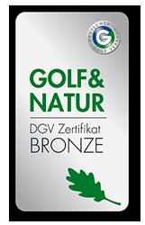 Golf und Natur Bronze